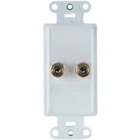 Click here to buy Legrand F9006-WH Home Theater Single Speaker Connection Kit, White (M6) Package Count 6.