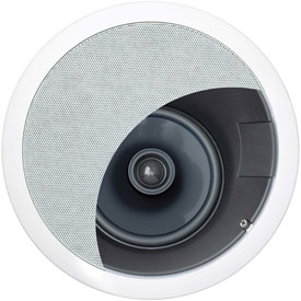 Click here to buy Legrand HT1655-V1 Aimable In-Ceiling Home Theater Speaker.