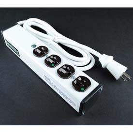 "Wiremold ULBH4-6 Multi-Outlet Power Unit, 10-3/4""L, 4 Outlets, 6' Cord by"