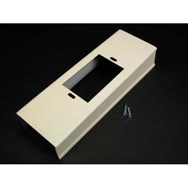"Wiremold V3014c Wall Box Connector, Ivory, 8""L - Pkg Qty 10"