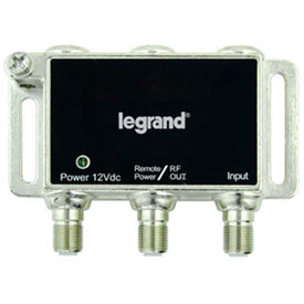 Click here to buy Legrand VM1100 Single-port RF Digital Cable Amplifier w/ Mounting Bracket.