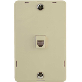 Buy Legrand WMTE14I Modular Wall Mount Telephone Jack for Hanging Phones Package Count 10