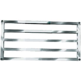 "Sani-Adjustable Aluminum Tubular Shelf, 20"" x 60"""