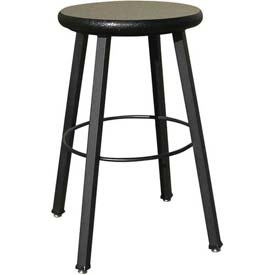 Wisconsin Bench Welded Stool  - Fixed Legs - Gray