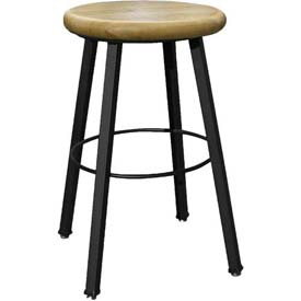 Wisconsin Bench Welded Stool  - Fixed Legs - Natural