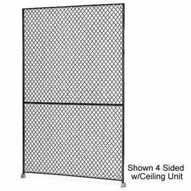 "Husky Rack & Wire 1-1/2"" Wire Mesh Panel 3' Wide x 7' Tall"