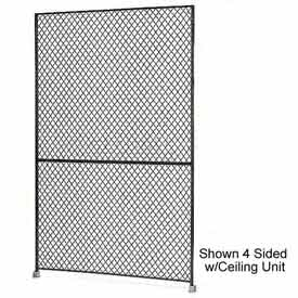 "Husky Rack & Wire 1-1/2"" Wire Mesh Panel 4' Wide x 8' Tall"
