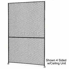 "Husky Rack & Wire 1-1/2"" Wire Mesh Panel 5' Wide x 7' Tall"