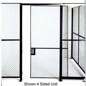 Husky Rack & Wire Full Height Single Sliding Door 5' Wide x 7' Tall