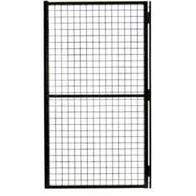 Husky Rack & Wire Matrix Guard Machine Enclosure Swing Door, 3 x 66, HLSO
