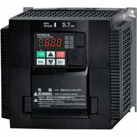 Click here to buy Hitachi Frequency Inverter, 10(15) HP, 200-240V, WJ200-075LF.