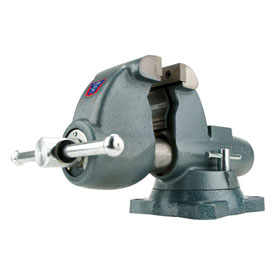 "Wilton 10225 Model C-1 4-1/2"" Jaw Width 4-3/4"" Throat Combination Pipe & Bench Vise W/ Swivel Base"