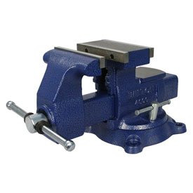"Wilton 14600 Model 4600 6-1/2"" Jaw Width 8"" Opening 4"" Throat Depth Reversible Mechanics Vise"