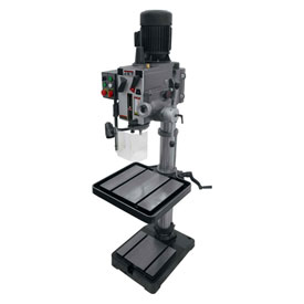Jet 354026 GHD-20PFT Geared Head Drill Press W/Tapping, 230V, 3-Phase