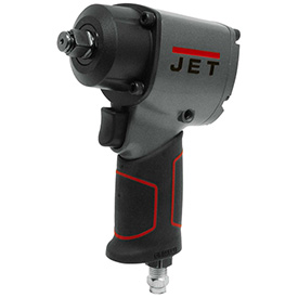 """JET JAT-107 1/2"""" Compact Impact Wrench 500 ft-lbs R8 Series 10,000 RPM 90 PSI 5 CFM by"""