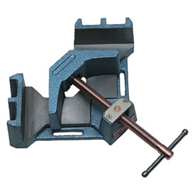 """Wilton 64002 Model AC-326 4-3/8"""" Miter Cap. 2-3/8"""" Jaw Height 4-1/8"""" Jaw Length 90° Angle Clamp"""