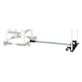 """JET 708158 24""""-40"""" Adjustable Mobile Base Extension Kit For 708119 Table Saw by"""