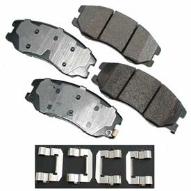 Akebono® Pro-ACT Series Ultra Premium Ceramic Disc Brake Pads - ACT1264