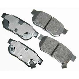 Akebono® Pro-ACT Series Ultra Premium Ceramic Disc Brake Pads - ACT374