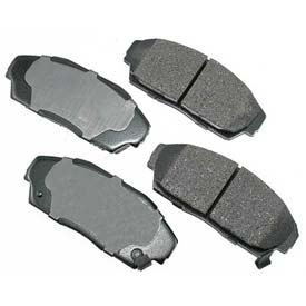 Akebono® Pro-ACT Series Ultra Premium Ceramic Disc Brake Pads - ACT409