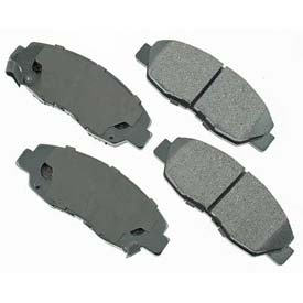 Brake Systems Brake Pads Akebono 174 Pro Act Series Ultra