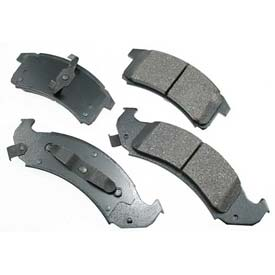 Akebono® Pro-ACT Series Ultra Premium Ceramic Disc Brake Pads - ACT505