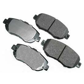 Akebono® Pro-ACT Series Ultra Premium Ceramic Disc Brake Pads - ACT619