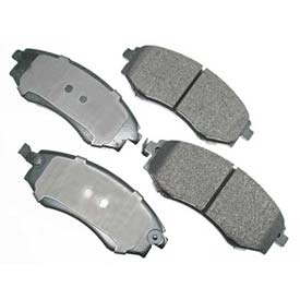 Akebono® Pro-ACT Series Ultra Premium Ceramic Disc Brake Pads - ACT700