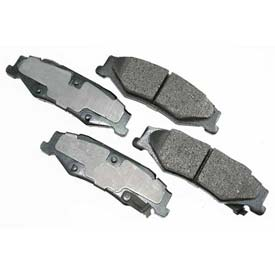 Akebono® Pro-ACT Series Ultra Premium Ceramic Disc Brake Pads - ACT732