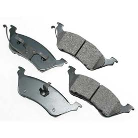 Akebono® Pro-ACT Series Ultra Premium Ceramic Disc Brake Pads - ACT858