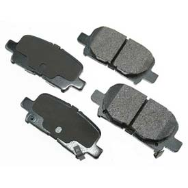 Akebono® Pro-ACT Series Ultra Premium Ceramic Disc Brake Pads - ACT865