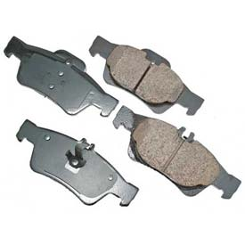Akebono® Euro Series Ultra Premium Ceramic Disc Brake Pads - EUR986