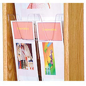 Optional Removable Divider for Brochures