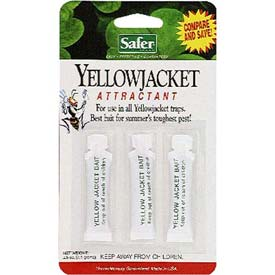 Safer Brand Deluxe Yellow Jacket Wasp Trap Bait 02006 by