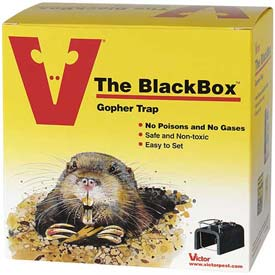 Victor® Black Box Gopher Trap 0625