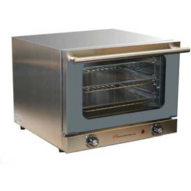"Wisco 620 Convection Oven For 1/4 Size Pan, 19""W, 100°F to 675°F by"