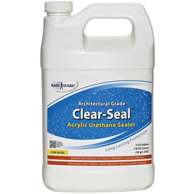Clear Seal Low Gloss Urethane/Acrylic Surface Sealer Gallon Bottle 4/Case CU-0201CS by
