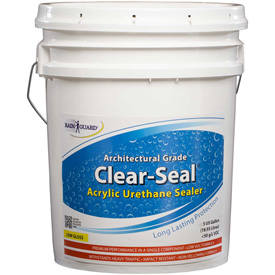 Clear Seal Low Gloss Urethane/Acrylic Surface Sealer 5 Gallon Pail 1/Case CU-0205 by