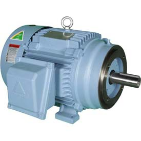 Hyundai PEM Motor HHI10-36-215TC, TEFC, Rigid-C, 3 PH, 215TC, 10 HP, 3600 RPM, 12 FLA