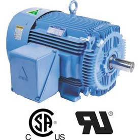 Hyundai PEM Motor HHI30-18-286TS, TEFC, Rigid, 3 PH, Short Shaft, 286T, 30 HP, 1800 RPM, 36 FLA