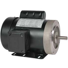 Worldwide Electric Jet Pump Motor NT34-36-56CB-NOL, GP, TEFC, REM-C, 1 PH, 56C, 115/208-230V, 3/4 HP