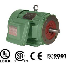 Worldwide Electric EXP Motor XPEWWE75-18-365TC, TEXP, Rigid-C, 3 PH, 365TC, 75 HP, 83.5 FLA
