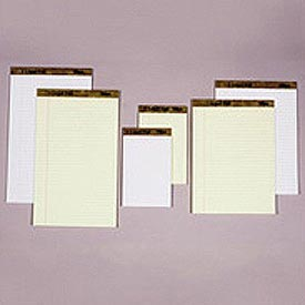 Letr-Trim Perf-Top Legal Pad, Canary, Legal Size, 50 Sheets/Pad, Dozen