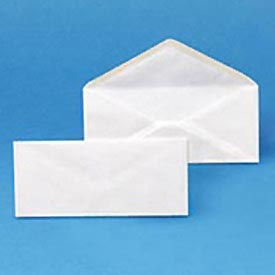 Plain Envelopes, #10, 4-1/8 x 9-1/2, White, 500/Box