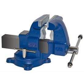 "Yost 5-1/2"" Tradesman Combination Pipe & Bench Vise - Swivel Base"