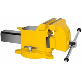 "Yost 8"" High Visibility All Steel Utility Workshop Vise"