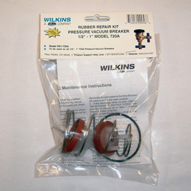 "Repair Kit For Zurn Wilkins Pressure Vacuum Valve Size 1/2"", 3/4"" Or 1"""