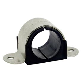 """1-1/8"""" Tube Od Stainless Steel Omega Cushion Clamp - Pkg Qty 25"""