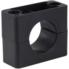 "1/4"" Polypropylene Weld-Mounted Beta Smoothie Clamp"