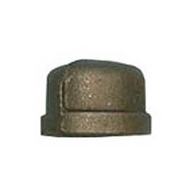 BMI Canada MBCAP10 Cap 150# Black Malleable - 1 In.